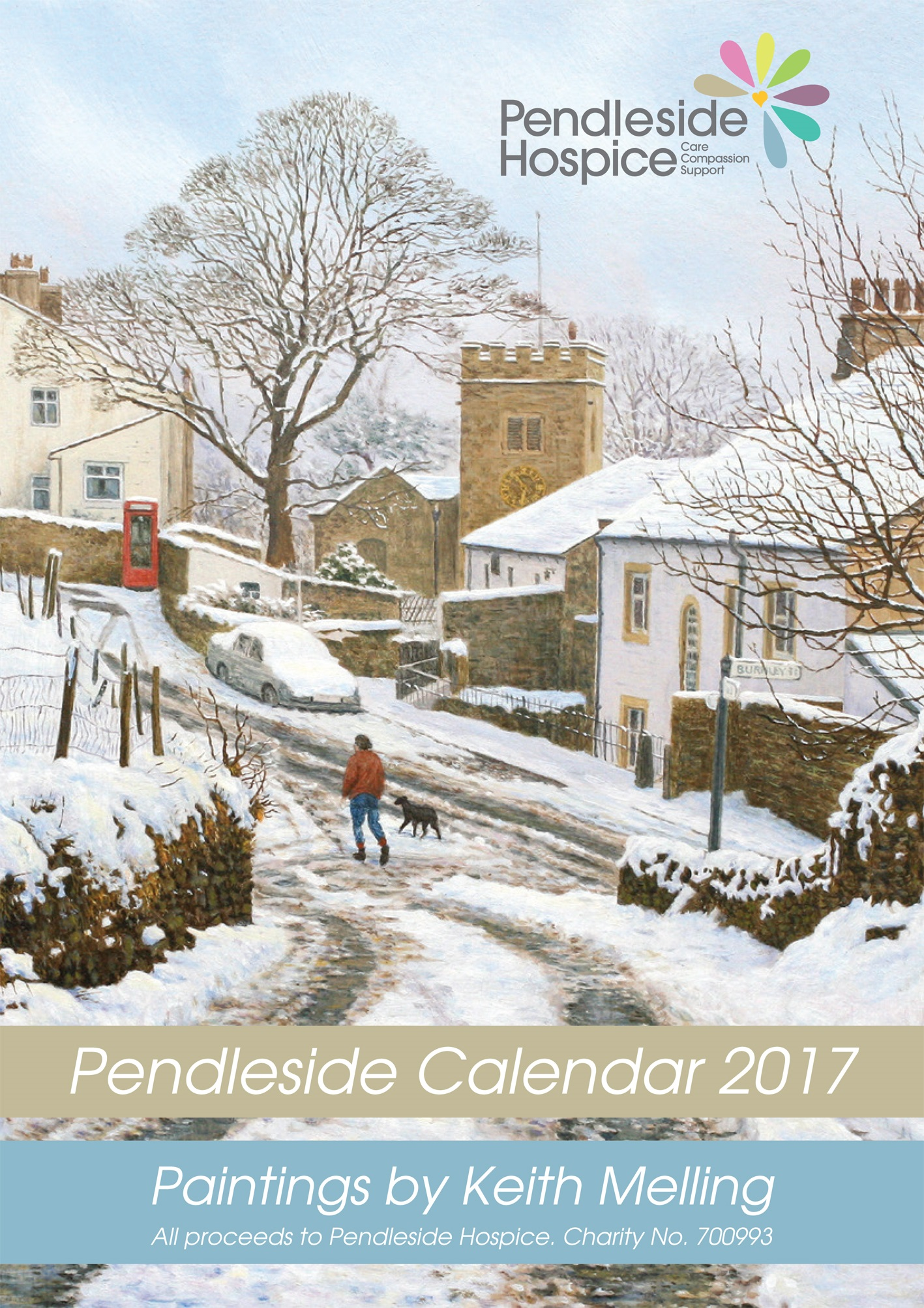 Keith Melling Calendar 2017 front cover jpeg