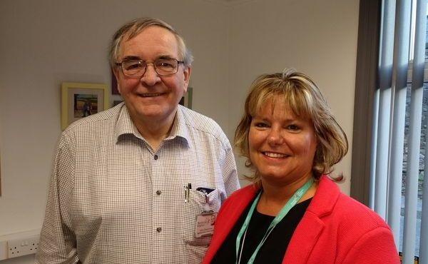 Hospice is 'in the blood' for retiring Chris