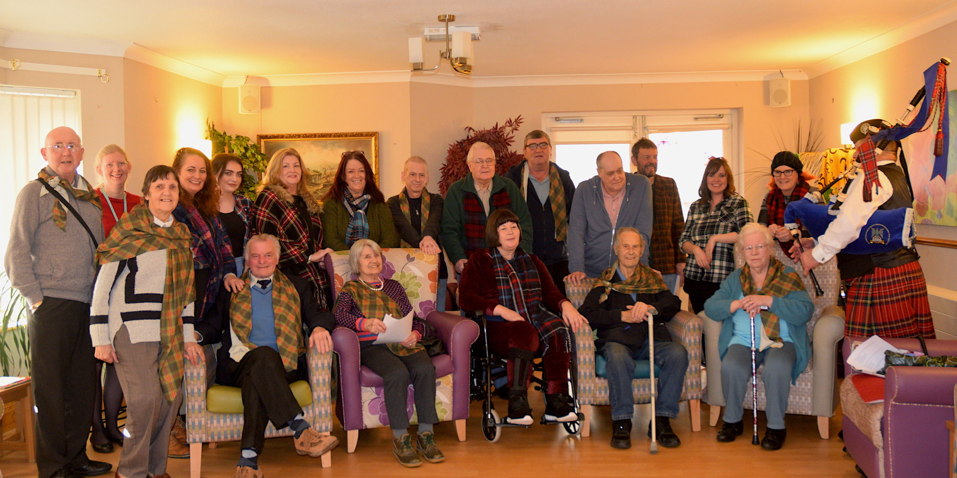 Burns night comes to Pendleside
