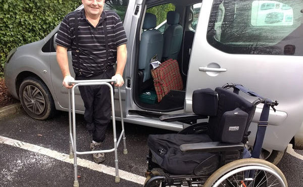 Pendleside helps Peter to walk again