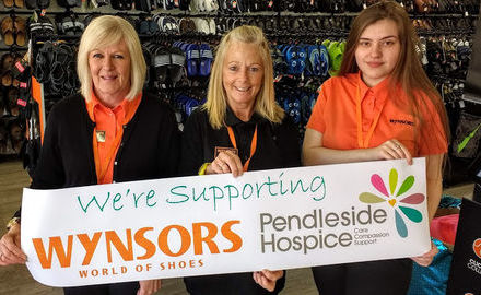 Wynsors World of Shoes announces Pendleside as Local Charity Partner