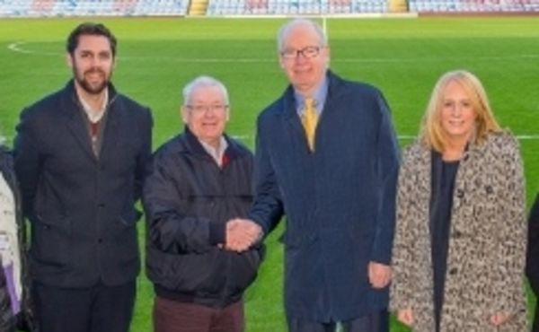 Pendleside partners up with Burnley FC in the Community for fundraising drive