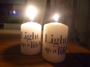 Light up a Life Candle