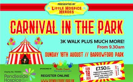 Little Hospice Heroes presents Carnival in the Park