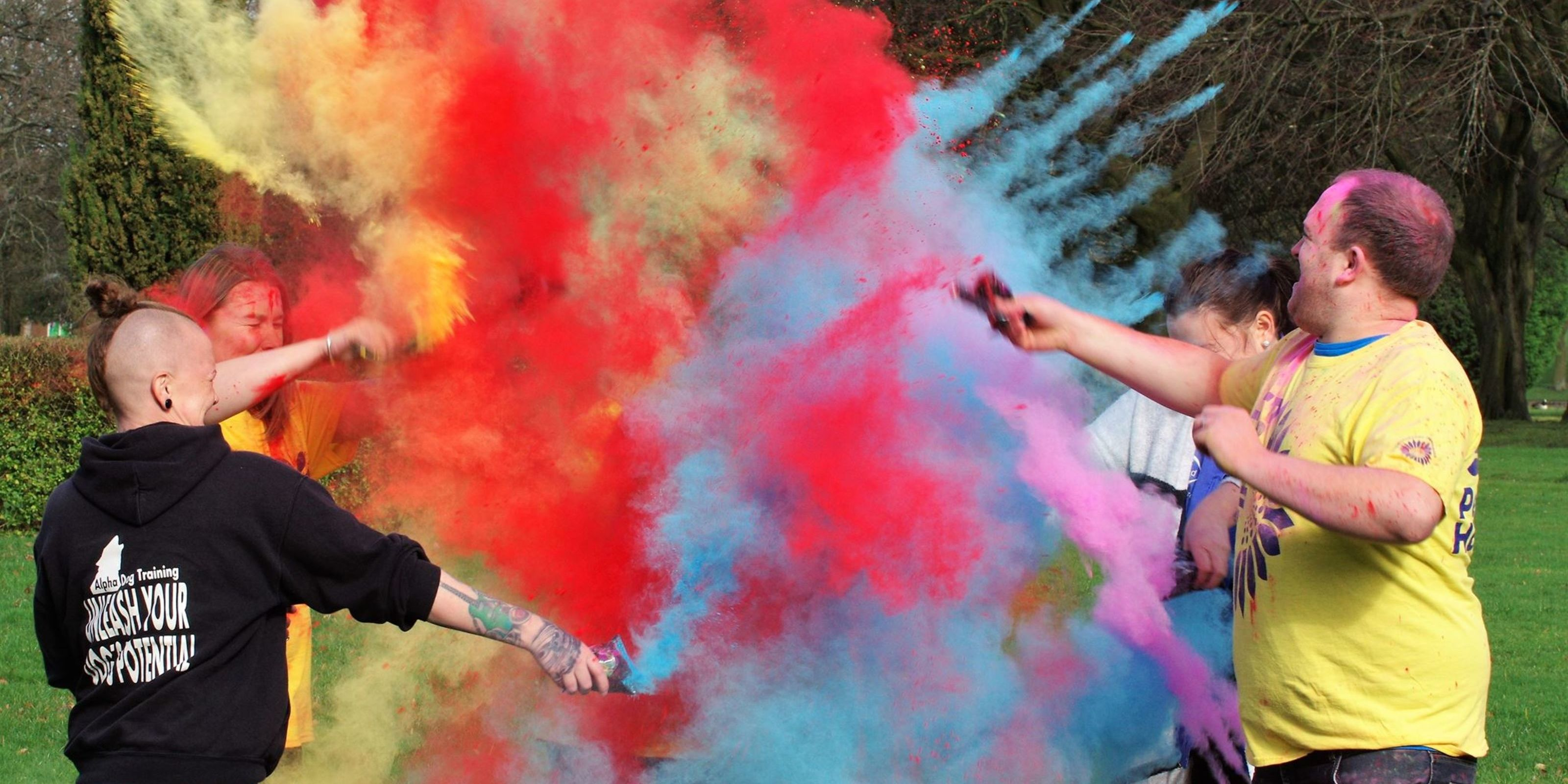Burnley Colour Dash 2018