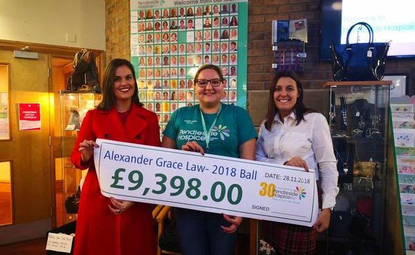 Alexander Grace Law Support Local Hospice's