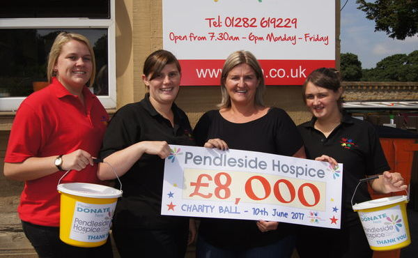 Lomeshaye Village Day Nursery Charity Ball raises £8,000 in aid of Pendleside Hospice