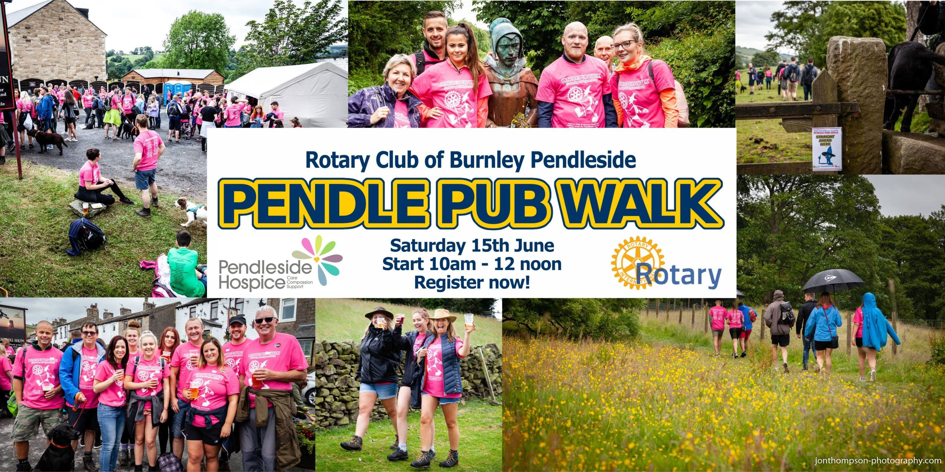 Pendle Pub Walk 2019