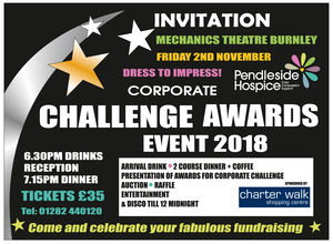 Corporate Challenge Awards Night Ticket £35