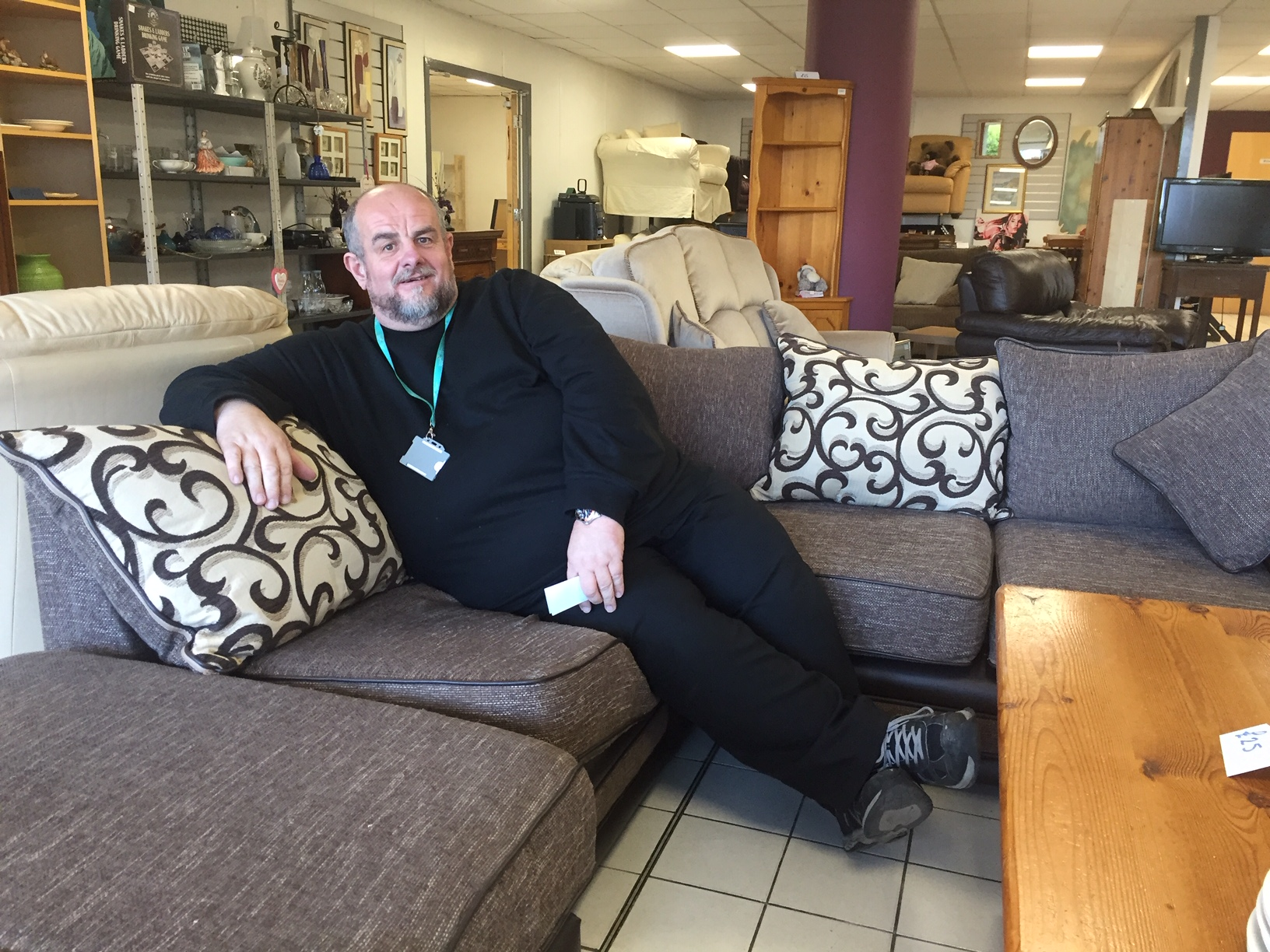 Pendleside Hospice Furniture Store Website