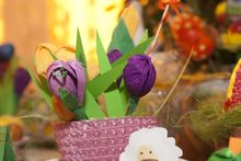 Easter flower pot